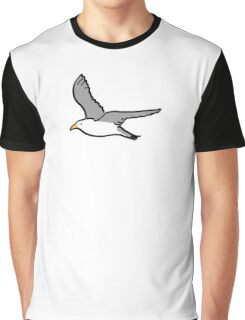 Bird flying high in the sky Graphic T-Shirt