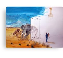 The subsistence and the emptiness of excess Canvas Print