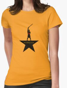Spamilton Womens Fitted T-Shirt