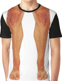 Muscular male legs Graphic T-Shirt