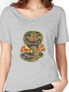 Cobra kai - Distressed Logo Variant Women's Relaxed Fit T-Shirt