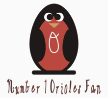 Illustrated Oriole Design for Kids by canossagraphics