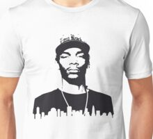 Snoop dog in the city Unisex T-Shirt