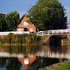 Caen Hill Cafe and Top Lock by Photography  by Mathilde