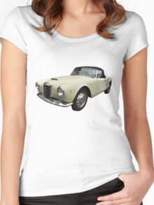 Vintage Italian Sports Car 3 Women's Fitted Scoop T-Shirt