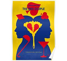 No421 My The Odd Couple minimal movie poster Poster