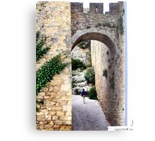 OBIDOS PORTUGAL WALLED CITY Metal Print