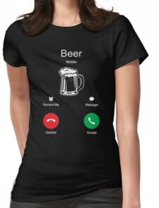 Beer - T-shirts & Hoodies Womens Fitted T-Shirt