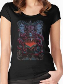 calling Cthulhu Women's Fitted Scoop T-Shirt