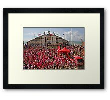 Sea of Pink Framed Print