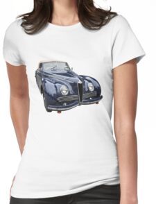 Vintage Italian Sports Car 2 Womens Fitted T-Shirt