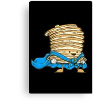 Captain Pancake Canvas Print