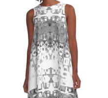 02Black A-Line Dress