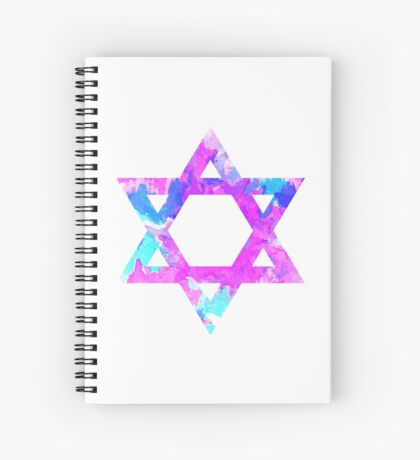 Star of David Spiral Notebook