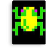 Frogger  Classic Arcade Game 80s Canvas Print