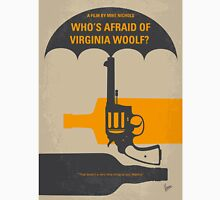 No426 My Whos Afraid of Virginia Woolf minimal movie poster Unisex T-Shirt