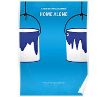 No427 My Home alone minimal movie poster Poster