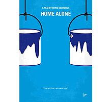 No427 My Home alone minimal movie poster Photographic Print