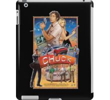Funny Chuck TV Poster iPad Case/Skin