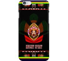 Knight Spirit who Flighs iPhone Case/Skin