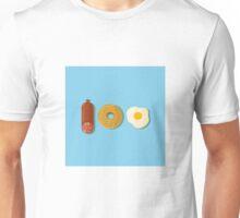 100% foodie Unisex T-Shirt