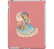 Vintage Girl iPad Case/Skin