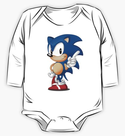 sonic the hedgehog One Piece - Long Sleeve