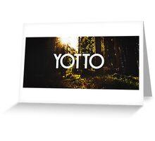 Yotto  Greeting Card