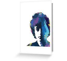 Bob Dylan - That Wild Mercury #35  Greeting Card