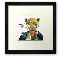 Neko Voltron: Hunk Edition Framed Print