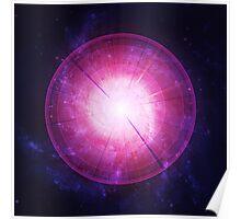 Enlightening Energy Blast from the Whirlpool Galaxy || FutureLifeFashion.com Poster