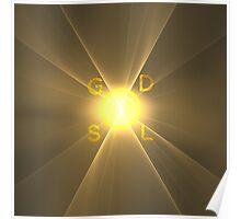 Eye of Ra God Sol Logo || GodSol.com Poster