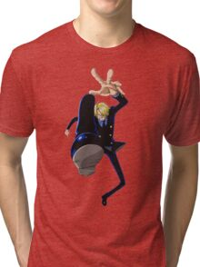 Sanji one piece Tri-blend T-Shirt