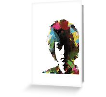 Bob Dylan - That Wild Mercury #12 Greeting Card