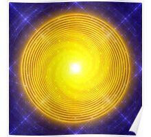 Peaceful Blue Enlightenment || FutureLifeFashion.com Poster