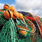 Fishing Gear At The Cobb 2 - Lyme Regis by Susie Peek