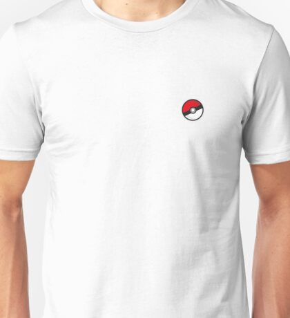 Pokémon Pokéball Design Unisex T-Shirt