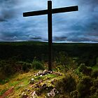 High Cross at Ffald-y-Brenin by LindaCooke