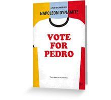 No430 My Napoleon Dynamite minimal movie poster Greeting Card