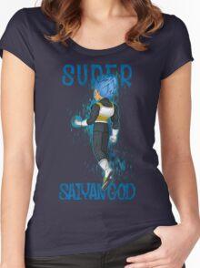 SUPER SAIYAN GOD Women's Fitted Scoop T-Shirt