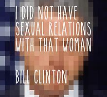 No Sexual Relations by redandy