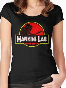 Hawkins Lab Women's Fitted Scoop T-Shirt