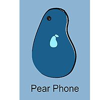 Pear Phone Photographic Print
