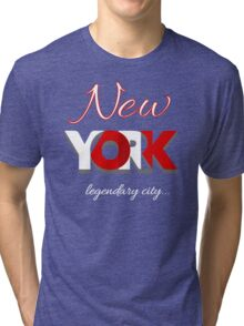 New York City USA T-Shirt Tri-blend T-Shirt