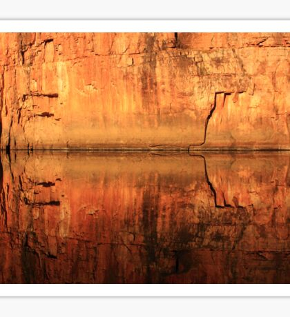 Katherine Gorge Sticker