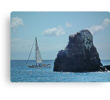 Sailing on the Atlantic Canvas Print