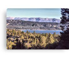 Cougar's View of Big Bear Lake Canvas Print