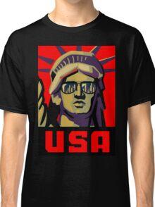 Statue Of Liberty New York USA t-shirt Classic T-Shirt