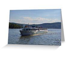 River Cruise Ship Douce France Greeting Card
