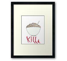 Cereal Killa  Framed Print